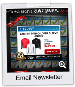 CWC - Chris Willemse Cycles Online email Newsletter
