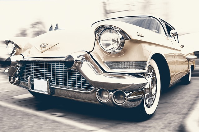 Photo of a 1958 Vintage Cadillac Car